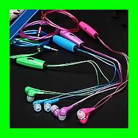 Светящиеся вакуумные наушники AT-618LED, Iglo Pulse