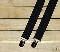 "Подтяжки для брюк ""Suspenders"" Black (030101)"