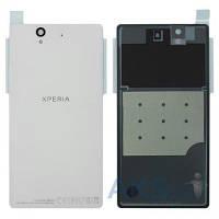 Задняя часть корпуса (крышка аккумулятора) Sony C6602 L36h Xperia Z / C6603 L36i Xperia Z / C6606 L36a Xperia Z Original White