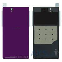 Задняя часть корпуса (крышка аккумулятора) Sony C6602 L36h Xperia Z / C6603 L36i Xperia Z / C6606 L36a Xperia Z Original Purple