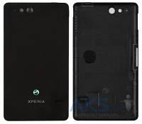 Задняя часть корпуса (крышка аккумулятора) Sony ST27i Xperia Go Original Black