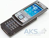 Передняя панель корпуса (рамка дисплея) Nokia 6280 Silver