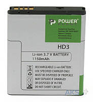 Аккумулятор HTC Wildfire S A510E / G13 / BD29100 / SM140022 / BA S540 / DV00DV6056 (1150 mAh) PowerPlant