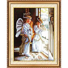 """Набор для вышивки крестом """"Ангелы"""""""