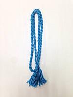Пояс-косичка блакитний