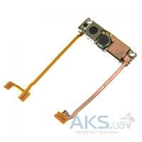 Шлейф для Sony Ericsson W880 / K660 с основной и 3G камерами, кнопкой включения камеры и динамиками Original