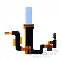 Шлейф для Sony Ericsson X2 Xperia с динамиком и компонентами Original