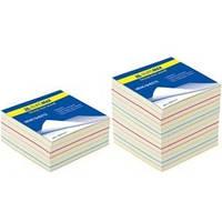 Блок бумаги не склеенный для записей «Радуга» 90x90х440 л.BM.2245