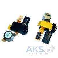 Шлейф для Samsung i5700 Galaxy Spica с коннектором наушника, динамиком и вибратором Original