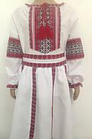 Костюм для дівчики в українському стилі спідниця з корсетом і сорочка