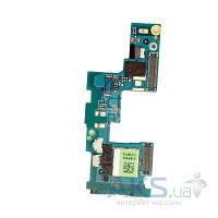 Шлейф для HTC C620e Windows Phone 8X c разъемом SIM-карты