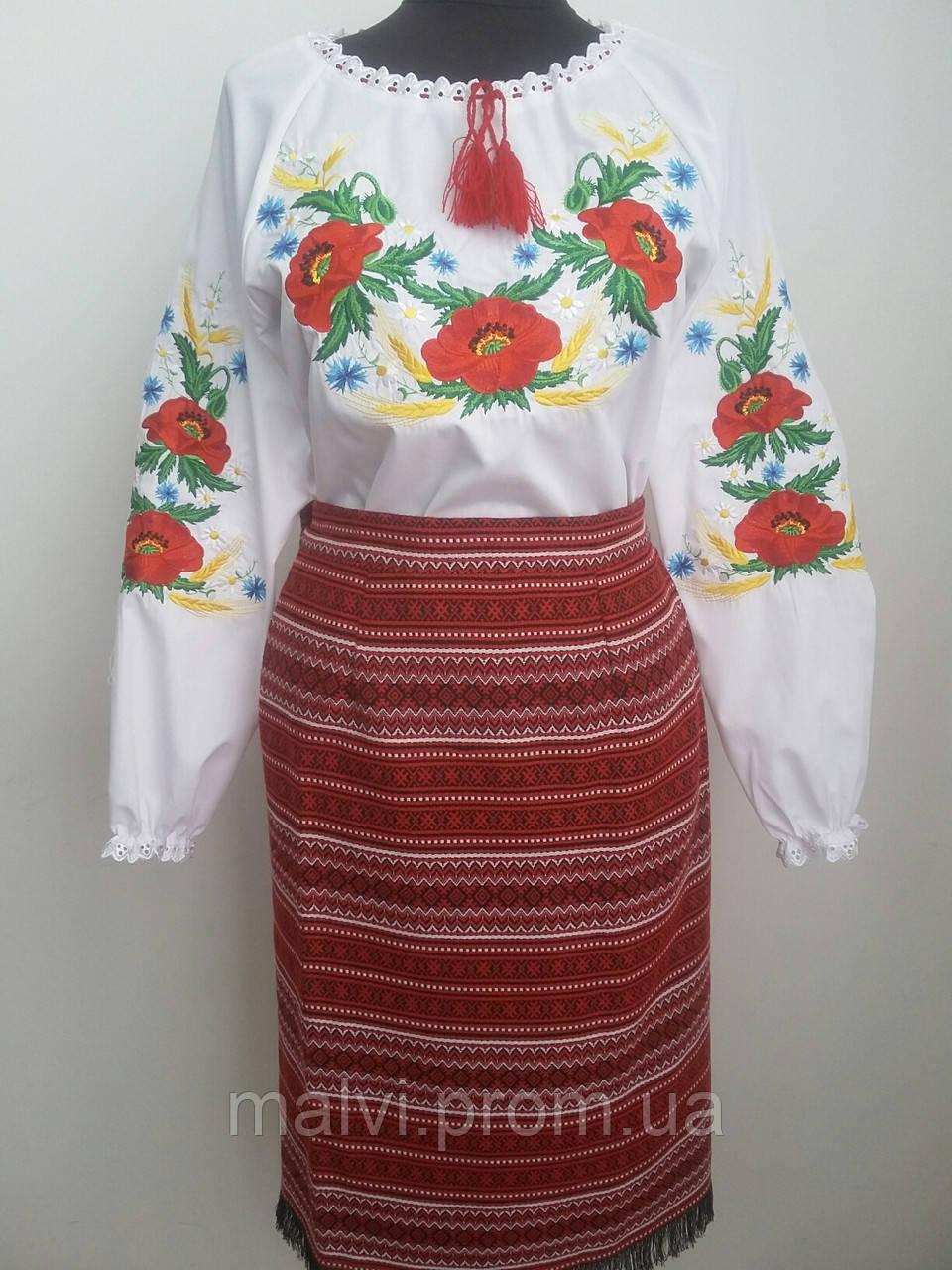 Жіночий костюм в українському стилі сорочка і плахта - Інтернет-магазин