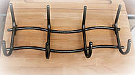 Вешалка настенная на 4 крючка Волна
