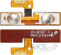 Шлейф для Samsung i9100 Galaxy S2 с кнопками громкости