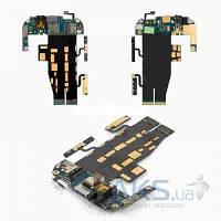 Шлейф для HTC myTouch 4G c кнопками звука, межплатный, кнопки включения, коннектора наушников, с компонентами