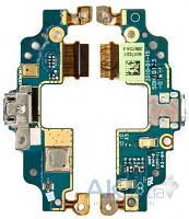 Шлейф для HTC Legend A6363 с коннектором зарядки, микрофоном и компонентами