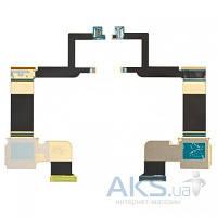 Шлейф для Samsung D700 Epic 4G межплатный, с компонентами, CDMA версия