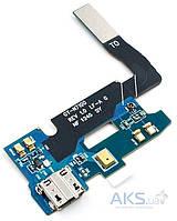 Шлейф для Samsung N7100 Note 2 с разъемом зарядки и микрофоном Original