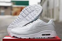 Кроссовки Nike Air Max 90 Ultra Moire белые 1669
