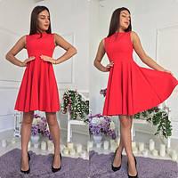 Красивое платье - клеш 2062