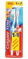 Зубная щетка Colgate Экстра Чистота 1+1 бесплатно (средняя