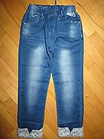 Джинсовые брюки для девочек оптом Goloxy 98,128 рр.