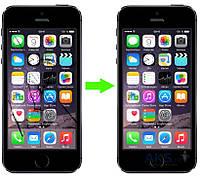 Aksline Замена стекла на iPhone 5C, iPhone 5S, iPhone SE (в стоимость услуги входит стоимость стекла)