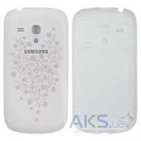 Задняя часть корпуса (крышка аккумулятора) Samsung I8190 Galaxy S3 mini Original White La Fleur