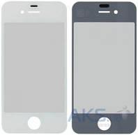 Стекло для Apple iPhone 4, iPhone 4S Original White