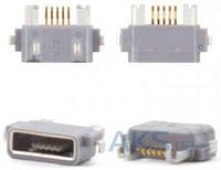 (Коннектор) Aksline Разьем зарядки Sony ST18i / WT18 / WT19 Sony LT25i Xperia V / LT26W Xperia acro S / ST25i Xperia U