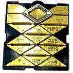 Клавиатура (кнопки) Nokia 7900 Gold