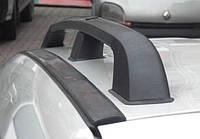 Рейлинги Renault Kangoo 2008- /Черный /Abs