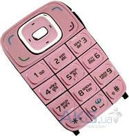 Клавиатура (кнопки) Nokia 6131 Pink