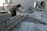 Кладка пеноблока, кирпича и другие работы по строительству