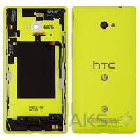 Задняя часть корпуса (крышка аккумулятора) HTC Accord Windows Phone 8X C620e Original Yellow