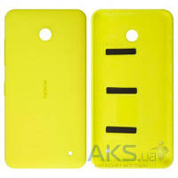 Задняя часть корпуса (крышка аккумулятора) Nokia 630 Lumia Dual Sim Original Yellow
