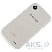 Задняя часть корпуса (крышка аккумулятора) Lenovo A800 White Gloss