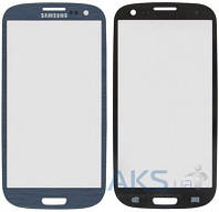 Стекло дисплея для Samsung Galaxy S3 I9300, I9305 Original Blue