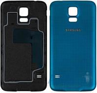 Задняя часть корпуса (крышка аккумулятора) Samsung SM-G900F Galaxy S5 / SM-G900H Galaxy S5 Original Blue