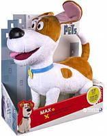Интерактивная мягкая игрушка Spin Master Secret Life of Pets Макс 23 см (без поводка)