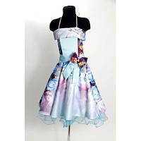 Платье Выпускное Ретро 3D (8-10 лет) HM-001