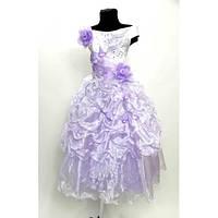 Платье детское праздничное Рюшка 6-8 лет