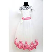 Платье Выпускное Валерия бархат HarMedp-008b (2 цвета) 7-9 лет