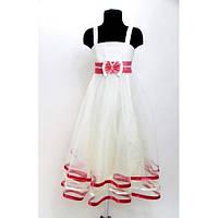 Платье детское праздничное Валерия (3 цвета) 5-6 лет