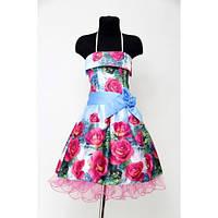 Платье Выпускное Ретро 3D (8-10 лет) HM-001roz