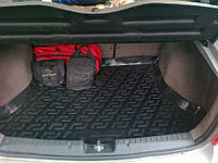 Резиновый коврик в багажник Калина 1117 универсал  L Locer