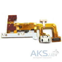 Шлейф для Huawei Ascend P6-U06 с разъемом зарядки