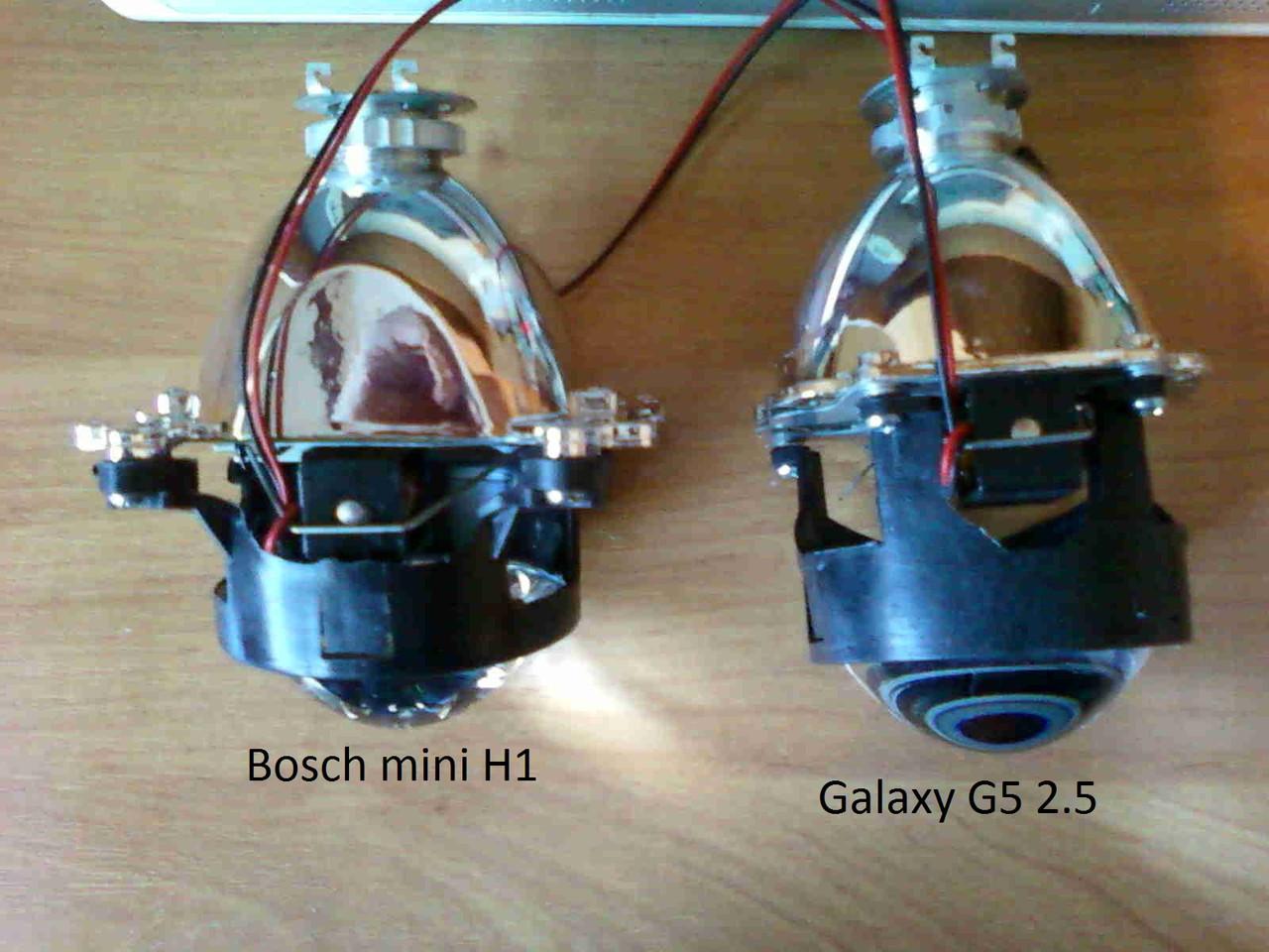 Биксеноновые линзы Bosch mini G5 H1