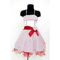 Платье детское праздничное Горох (6 лет)