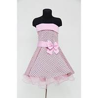 Платье детское праздничное Мелкий Горох (6 лет)